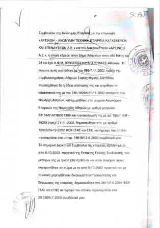 Σε τέλειο συγχρονισμό με την απόφαση - σκάνδαλο, εμφανίζεται η εταιρεία Αρσινόη με το μυστρί στο χέρι. Δείτε τις ημερομηνίες (κε Εισαγγελέα).