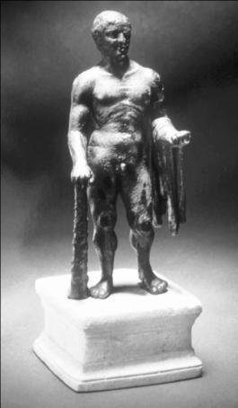 Χάλκινο άγαλμα του Ηρακλή στο Αφγανιστάν