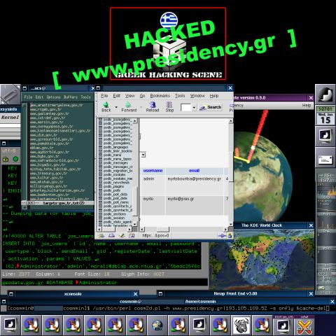 Geodata.gov.gr | Presidency.gr - Greek Hacking Scene