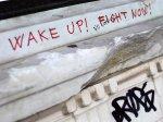 athens graffiti wake up fight nowi
