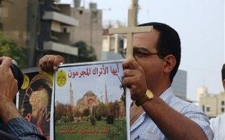 Στο κέντρο της Βηρυτού Διαμαρτυρία Ελληνορθόδοξων του Λιβάνου για την τουρκική ταινία «ΑΛΩΣΗ 1453»!!