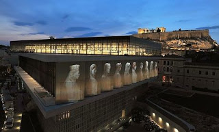 Acropolis+Museum+by+night