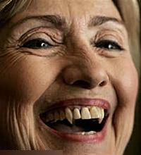 Hilary Clinton vampire2