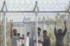 Διαμαρτυρία λαθρομεταναστών στην Ορεστιάδα