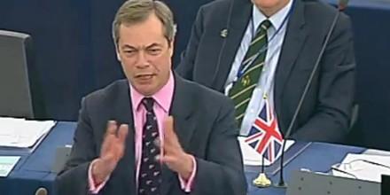 Nigel Farage: Νέο σύστημα διακυβερνήσεως θα επιβληθεί στα έθνη της Ευρώπης