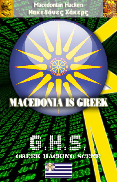 Macedonian Hackers GHS