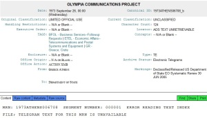 olympia communication project