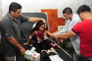 παιδί τραυματίας