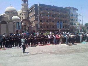 ο στρατός σήμερα παρασκευή ημέρα προσευχης των μουσουλμάνων φυλάει τις εκκλησίες