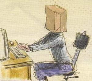 Κουκουλοφόρος στο ίντερνετ