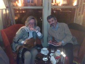 H Lizin κατά την πρόσφατη συνέντευξη στο Λίβανο