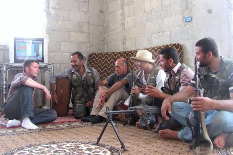 O Piccinin με αντάρτες του FSA