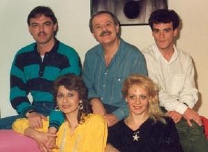 Μητσοβολέας, Σπανός, Τζίμας, Χωματά, Μαβίλη το 1987