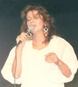 Η Χωματά το 1989 στο Λυκαβηττό.