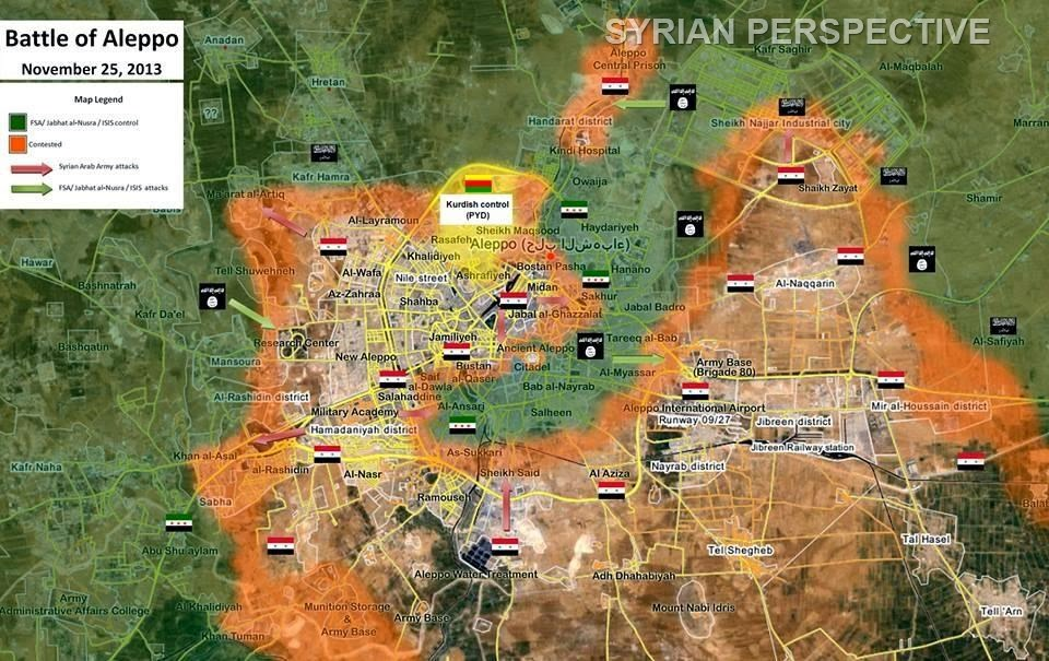 χαλεπι προελαση συριακων δυναμεων