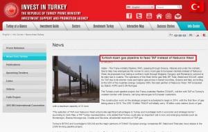 TAP Turkey azeri