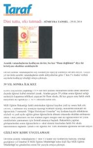 Τουρκικό δημοσίευμα ΔΙΑΚΡΙΣΕΙΣ ΣΕ ΒΑΡΟΣ ΡΩΜΗΩΝ