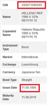 deutsche bank ομολογο Σημιτης ιουλιος 1996 details