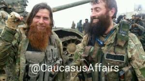 Ο Αμπού Μουσλιμ και ο Αμπού Τουράν, τσετσένοι ισλαμοφασίστες βετεράνοι στην Τουρκία.