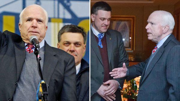 O McCain με τους ναζί στην Ουκρανία