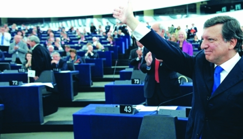 Participation of José Manuel Barroso at the European Parliament