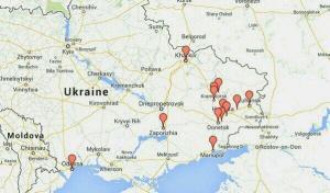 Ουκρανια χαρτης εξεγερσης