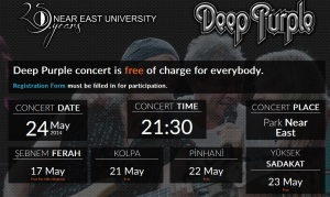 deep purple occupied cyprus free entrance
