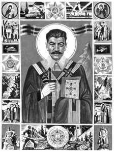 stalin orthodox saint