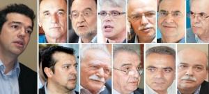 tsipras-stathakis-lafazanis-milios-papadimoulis-stratoulis-dragasakis-glezos-flampouraris-skourletis-voustis-660