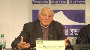o Nazzaro στη Γενεύη ενώ καταγγέλει