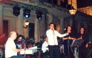 6.Ο Γιώργος Κατσαρός, Τσαρνάς, Σαββατιανού, Κλωναρίδης στην Κέρκυρα το 2003.