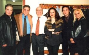 8. Κλωναρίδης,Μαβίδης, Κατσαρός, Σαββατιανού,Τσαρνάς, Κραβαρίτη στο Βόλο το 2004.