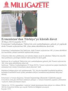 τουρκος προεδρος αρμενικη γενοκτονια προσκυνημα