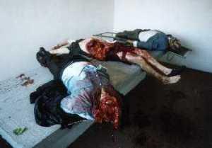 kosovo slaughtered pregnant