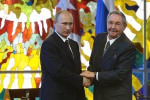 Официальный визит В.Путина на Кубу
