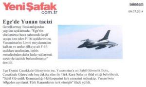 Τουρκικό δημοσίευμα ΠΑΡΑΒΙΑΣΕΙΣ