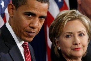 Barack Obama, Hillary Rodham Clinton, Jim Jones