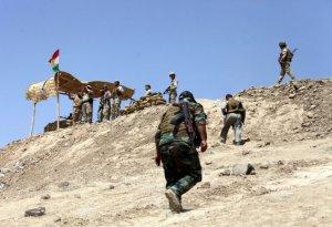 Kurdish Peshmerga soldiers