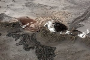 Subglacial volcano activity on Iceland