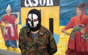 """Ο """"ηγέτης"""" της ταξιαρχίας Azof, υμνεί τους μογγόλους εισβολείς και χαρακτηρίζει Σημίτες - Untermenschen (υπανθρώπους)"""