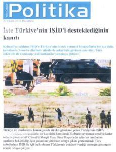 Αποκαλυπτικο Κουρδικό δημοσίευμα