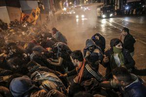 Turkey Europe Kurdish Protests