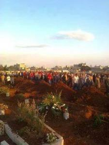 homs child funeral 2
