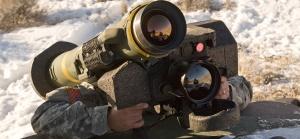 Raytheon javelin missile