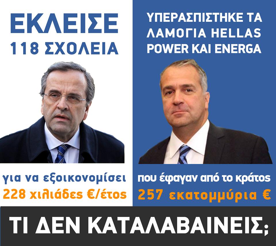 ΣΑΜΑΡΑΣ ΒΟΡΙΔΗΣ POWER HELLAS