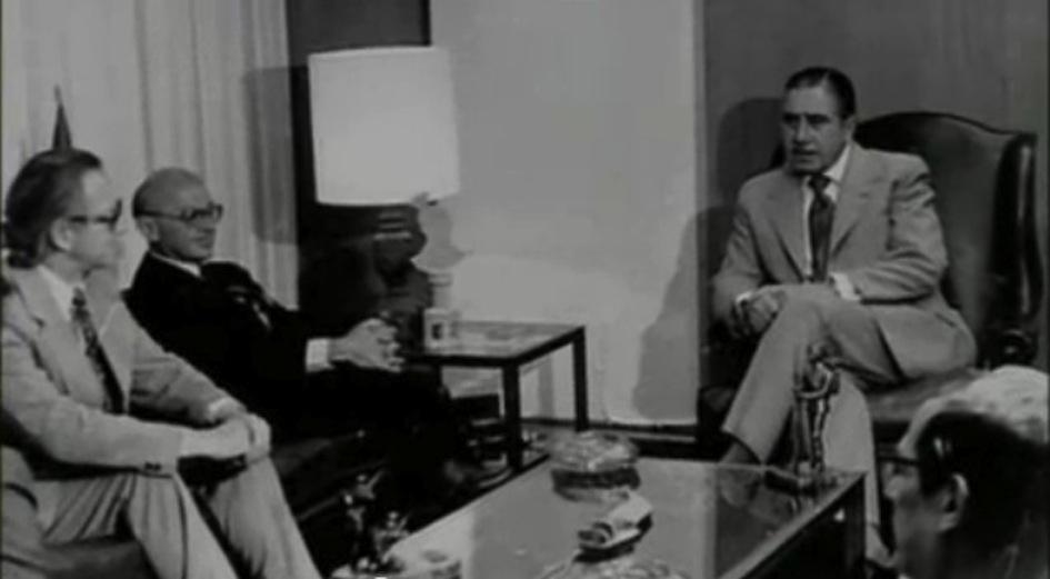 Ο πατέρας της Νεοφιλελευθερης Ουτοπίας Μαρτιν Μίλτον Φρίντμαν με τον δολοφόνο Δικτάτορα Αουγκούστο Πινοσετ