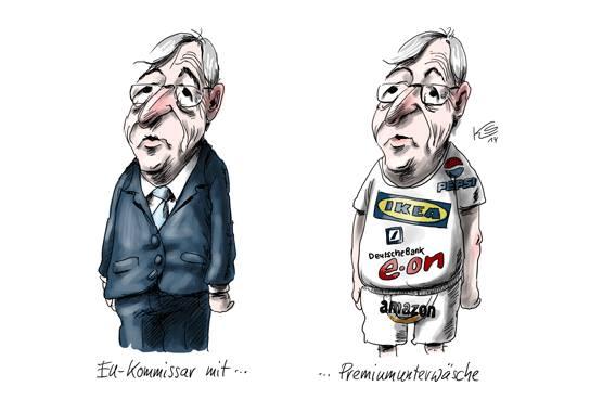 Jean-Claude Juncker Luxleaks