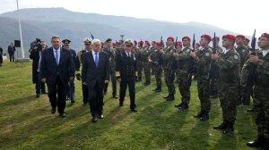 Επίσκεψη του ΠτΔ κ. Παυλόπουλου και του ΥΕΘΑ @PanosKammenos στο οχυρό του Ρούπελ  (3)