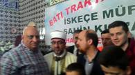 Προσκεκλημένοι στην τελετή και ο πρόεδρος της Μουσουλμανικής Κοινότητας Ελλάδας Ναΐμ Ελγαντούρ με την σύζυγο του