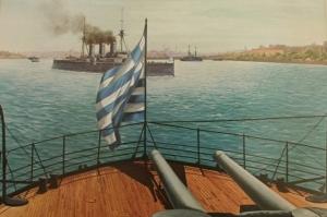 31 Οκτωβρίου 1918 - Τα θωρηκτά Αβέρωφ και Κιλκίς στην Κωνσταντινούπολη!
